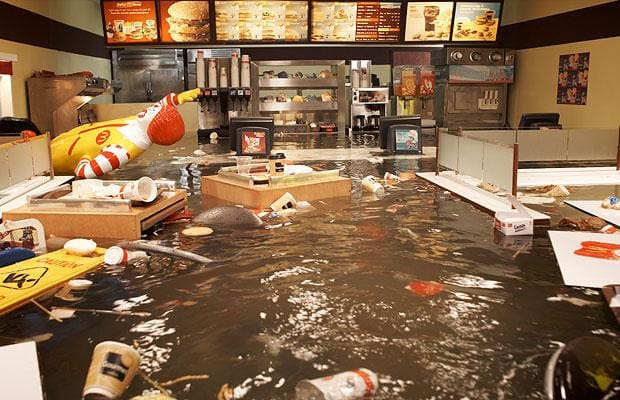 Superflex – Flooded McDonalds, 2009