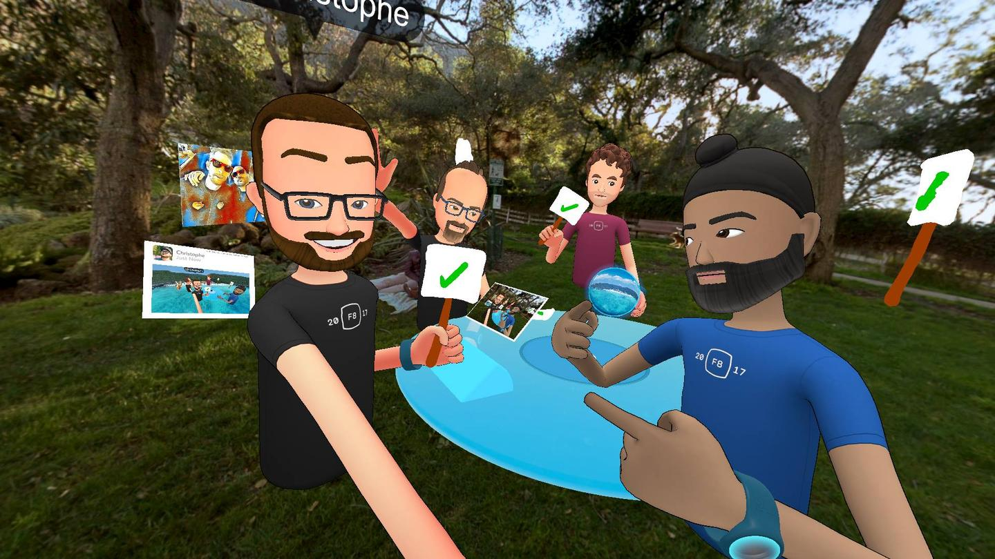 What Facebook Thinks Virtual Reality Should Be About