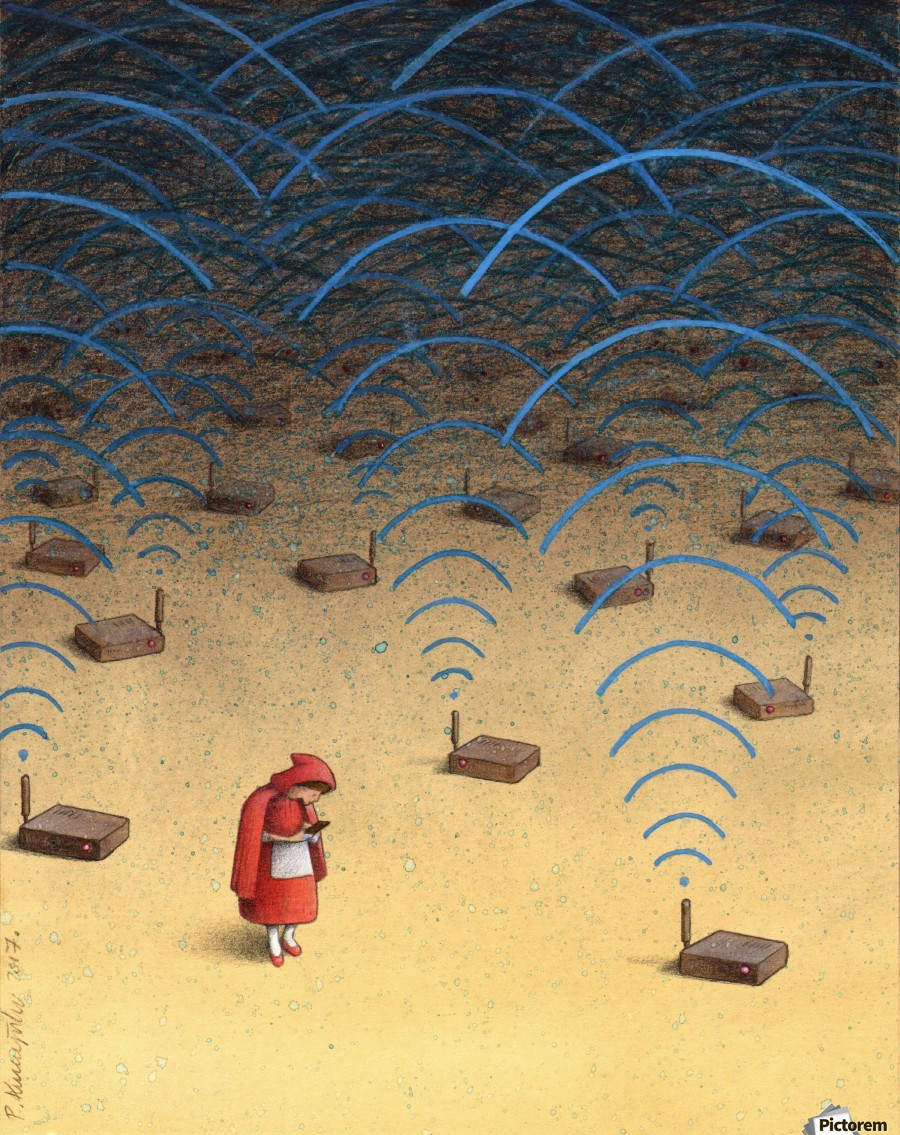 Satire Drawings Pawel Kuczynski Diploma 12