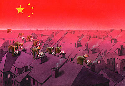 Satire drawings – Pawel Kuczynski