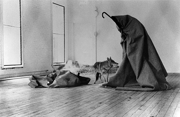 I Like America and America Likes Me – Joseph Beuys, 1974