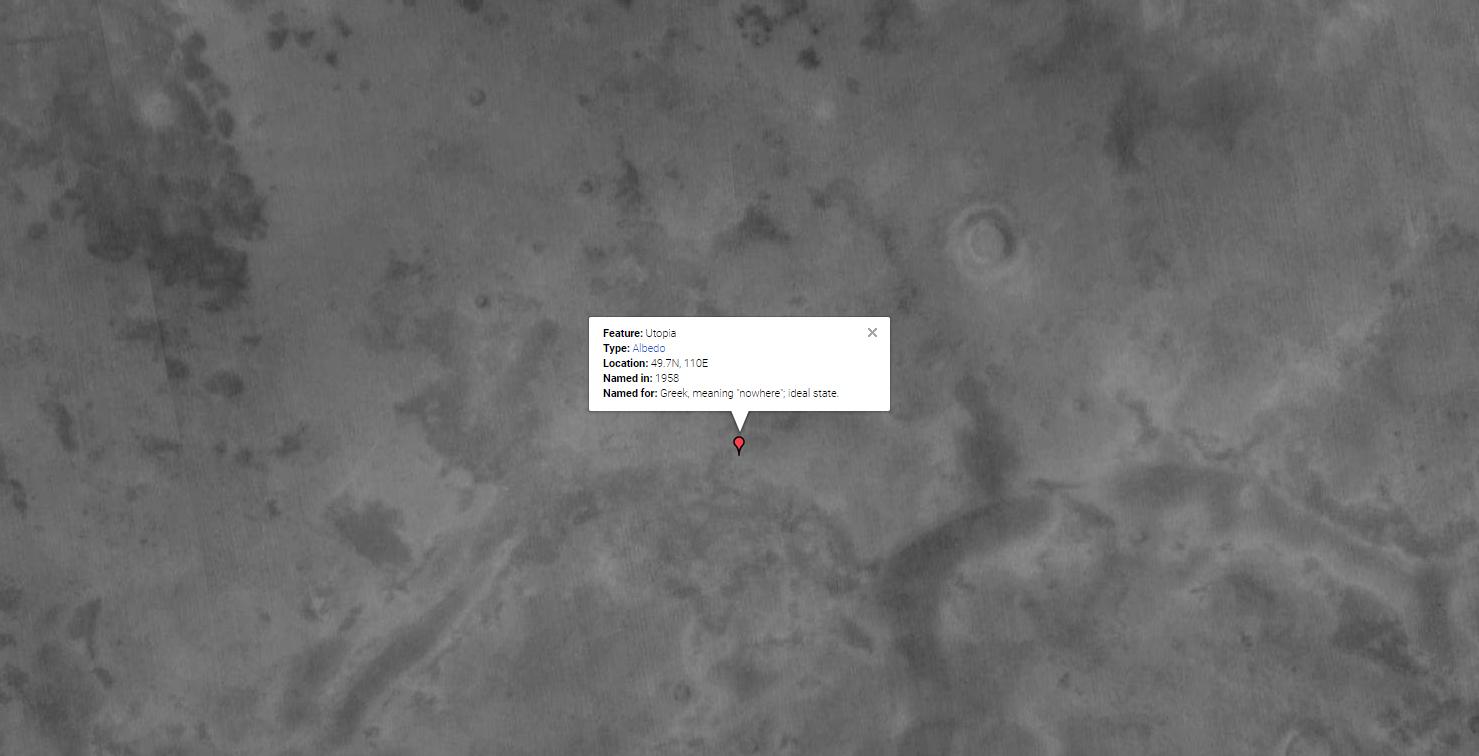 Utopia Found on Mars