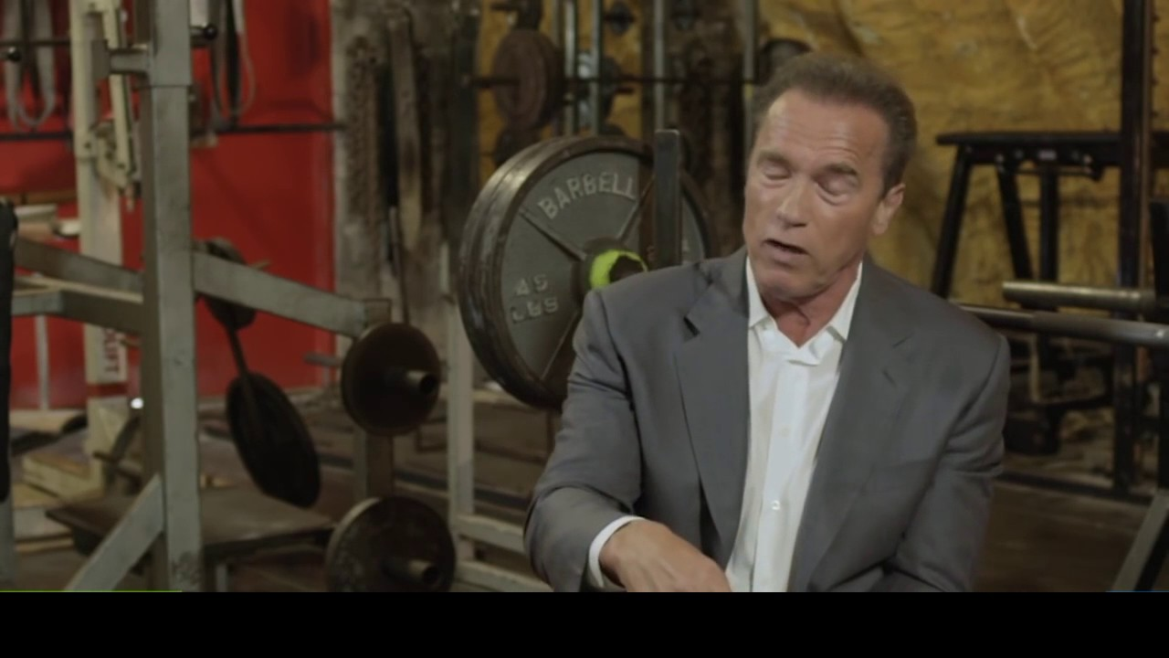 ARNOLD SAYS…