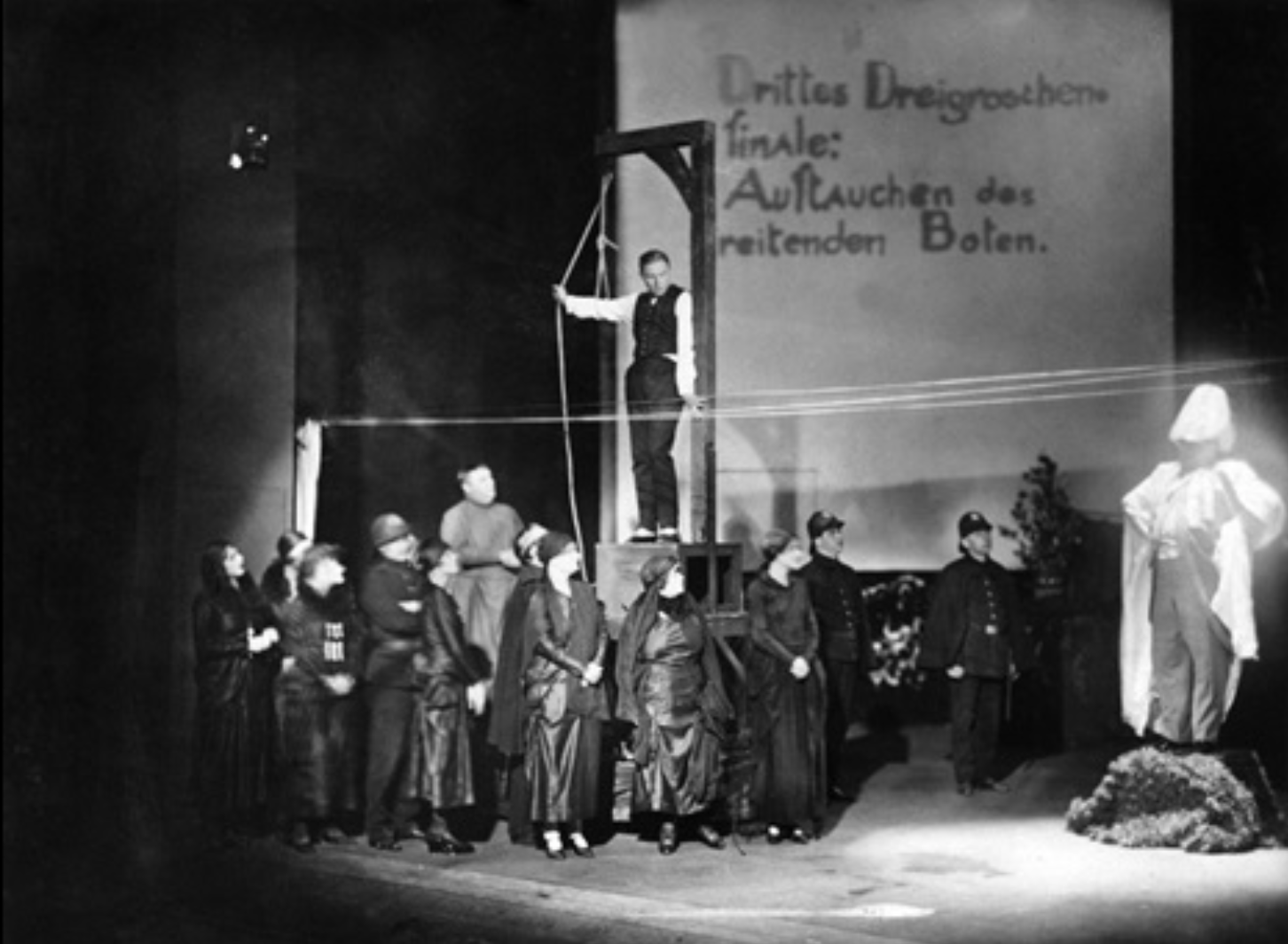 The Stage of Brechtian Epic Theatre